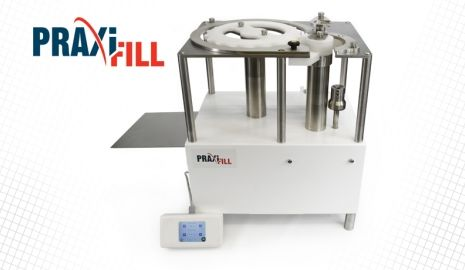 PraxiFill™ automated syringe filler.
